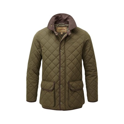 Barrowden Quilt Jacket Olive