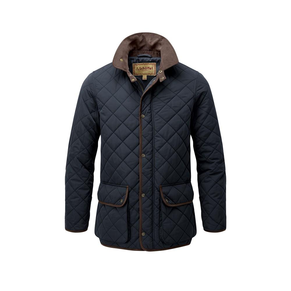 Barrowden Quilt Jacket Midnight