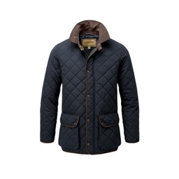 Barrowden Quilt Jacket Midnight