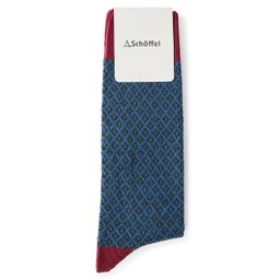Schoffel Country Helmsdale Sock in Raspberry