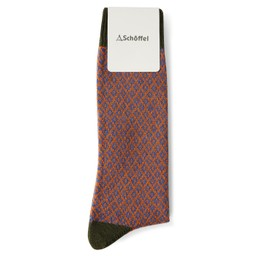 Schoffel Country Helmsdale Sock in Dark Olive