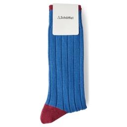 Schoffel Country Hilton Sock in Sea Blue