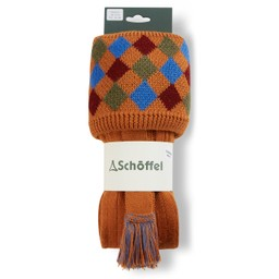 Schoffel Country Ptarmigan II Sock in Burnt Orange/Sea Blue