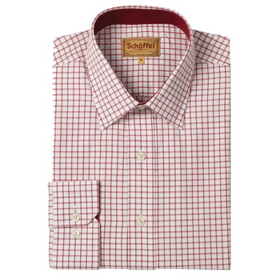 Cambridge Tailored Sporting Shirt Red