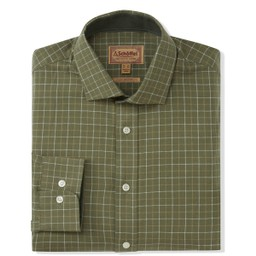 Schoffel Country Newton Tailored Sporting Shirt in Lovat Check