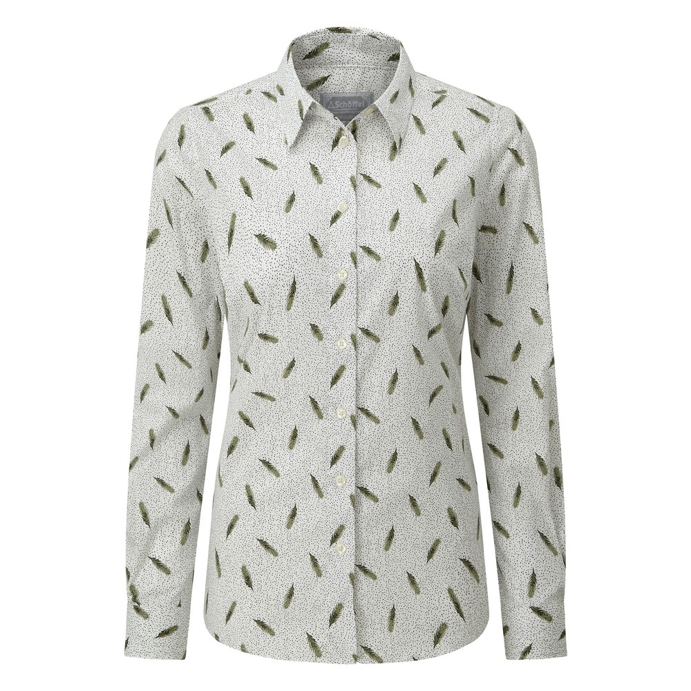 Norfolk Shirt Sprig Cedar
