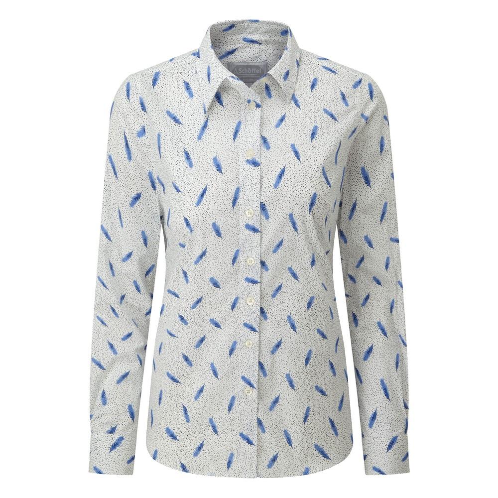Norfolk Shirt Sprig Cobalt