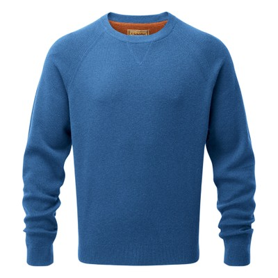 Schoffel Country Wilfred Jumper in Sea Blue