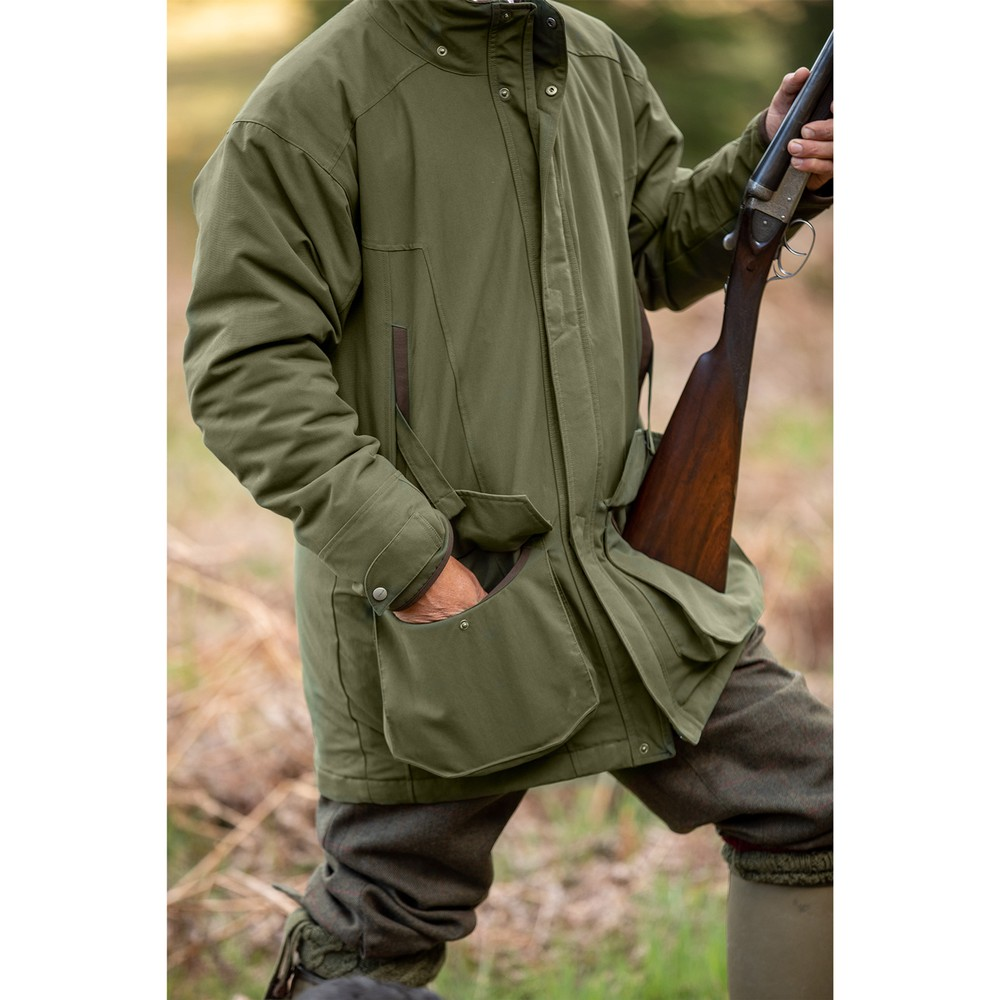 Ptarmigan Classic Coat Hunter Green