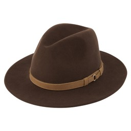 Willow Fedora Chocolate
