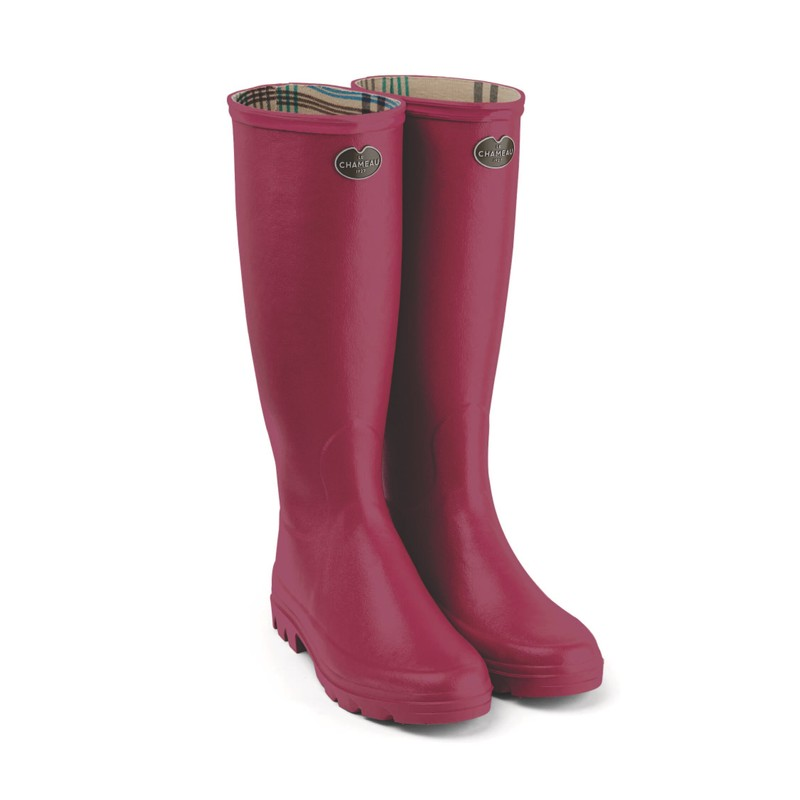 Women's Iris Jersey Lined Wellington Boots -