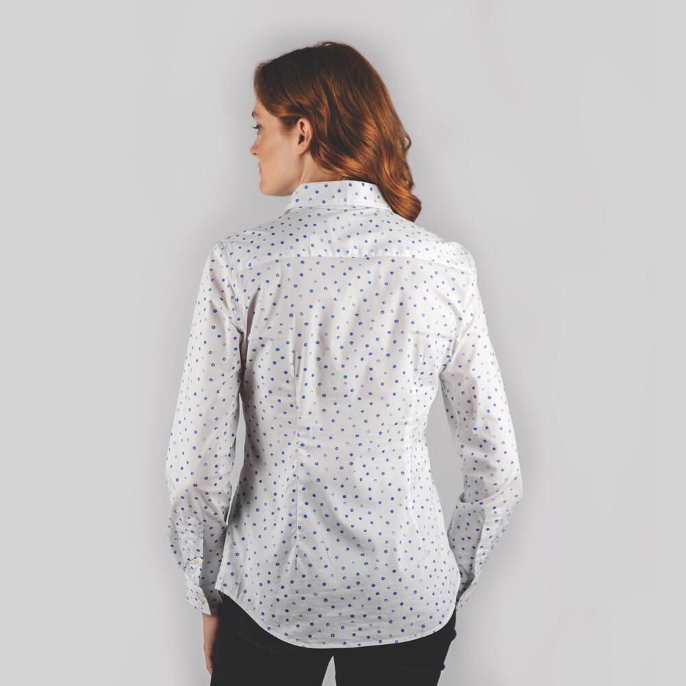 Norfolk Shirt Cobalt Blot