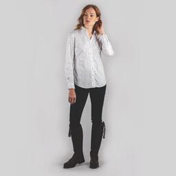 Schoffel Country Norfolk Shirt in Cobalt Blot