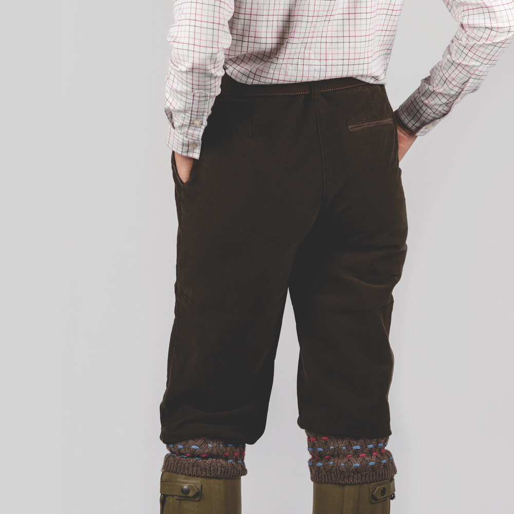 Ladies Moleskin Breeks Forest