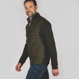 Hybrid Aerobloc Jacket Loden Green