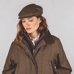 Ladies Tweed Cap Sussex Tweed