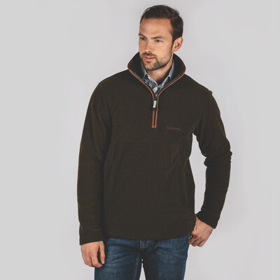 Berkeley 1/4 Zip Fleece Dark Olive