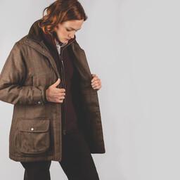 Ladies Ptarmigan Tweed Coat