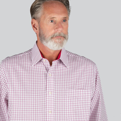 Cambridge Classic Shirt Raspberry