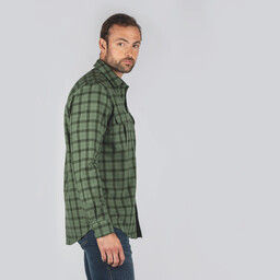 Schoffel Country Tollymore Utility Shirt in Loden Green