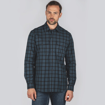 Schoffel Country Tollymore Utility Shirt in Navy
