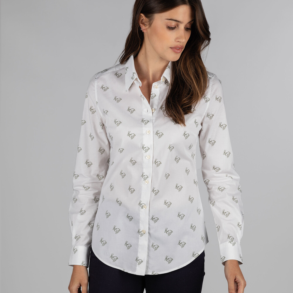 Norfolk Shirt Cedar Hare