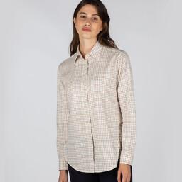Ashley Tattersall Shirt Grey Tattersall