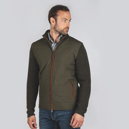 Schoffel Country Hybrid Aerobloc Jacket in Loden Green