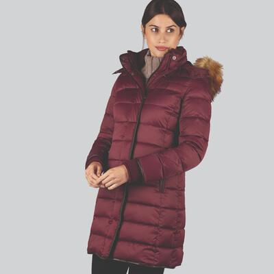 Mayfair Down Coat Fig