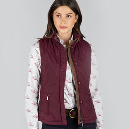 Schoffel Country Islington Gilet in Fig