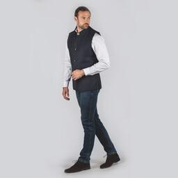 Nehru Tweed Waistcoat