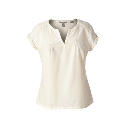 Royal Robbins Cool Mesh Eco S/S Top in Creme