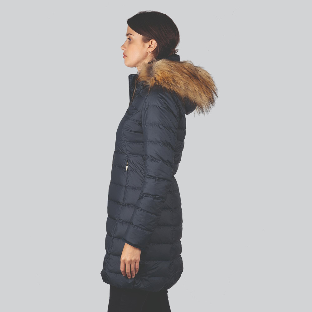 Belgravia Down Coat Navy