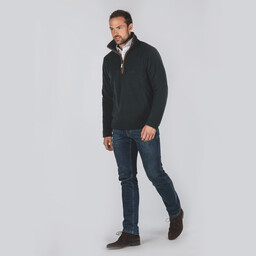 Berkeley 1/4 Zip Fleece Kingfisher