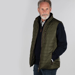 Schoffel Country Brora Gilet in Forest