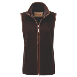 Schoffel Country Lyndon Fleece Gilet in Mocha