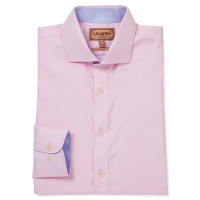 Greenwich Tailored Shirt Pale Pink Diagonal