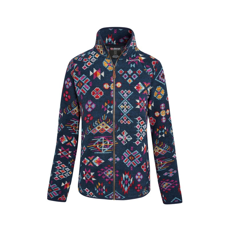 Lumbini Full Zip Jacket - Neelo Blue