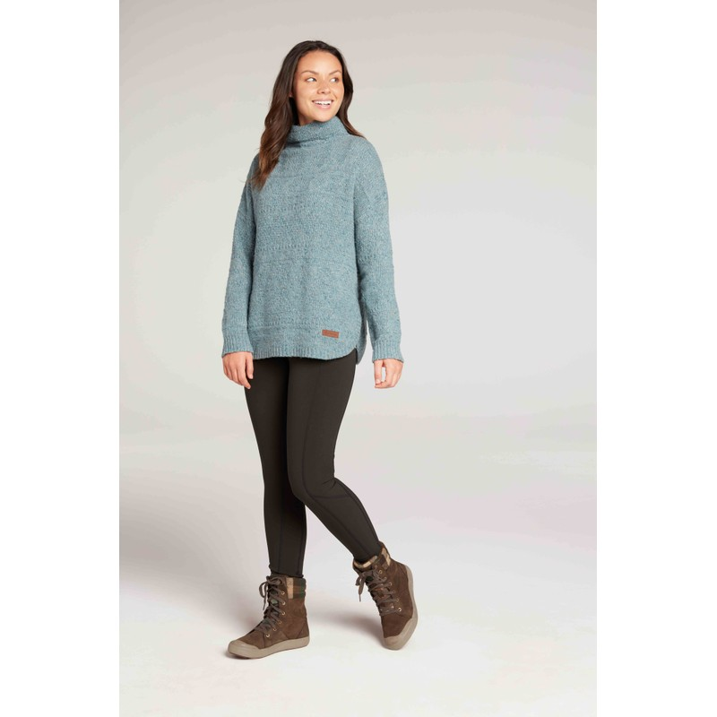 Yuden Pullover Sweater - Mechi Green