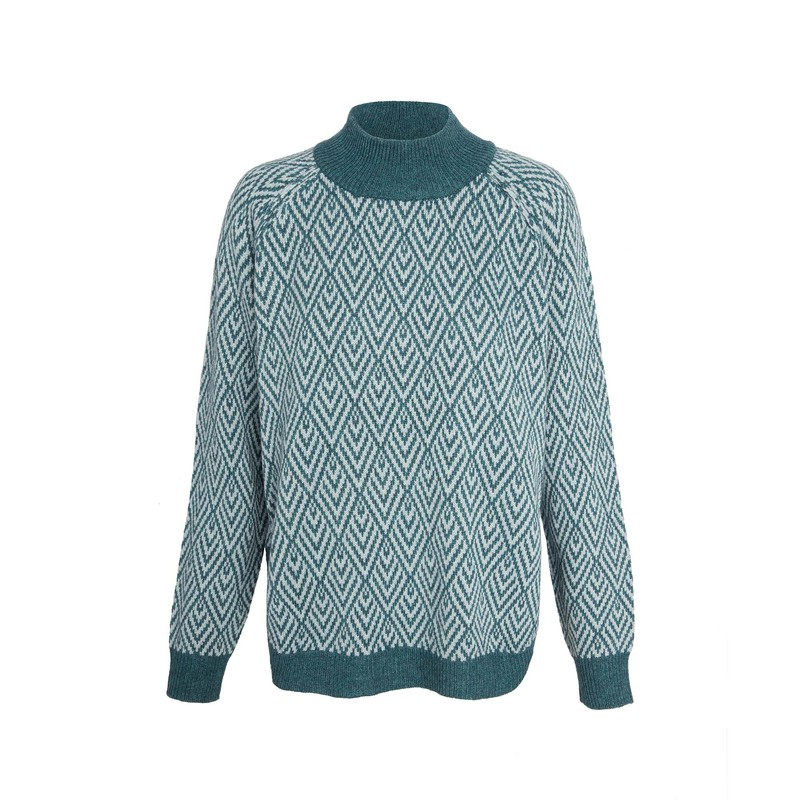 Hasri Pullover Sweater - Rathna Green