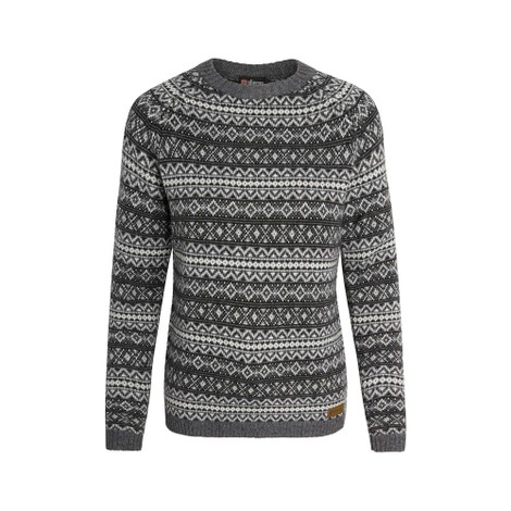 Paro Crew Sweater Kharani Grey