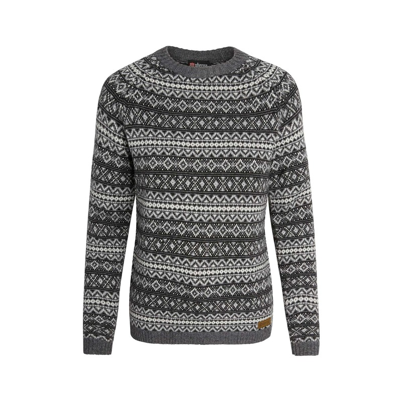 Paro Crew Sweater - Kharani Grey