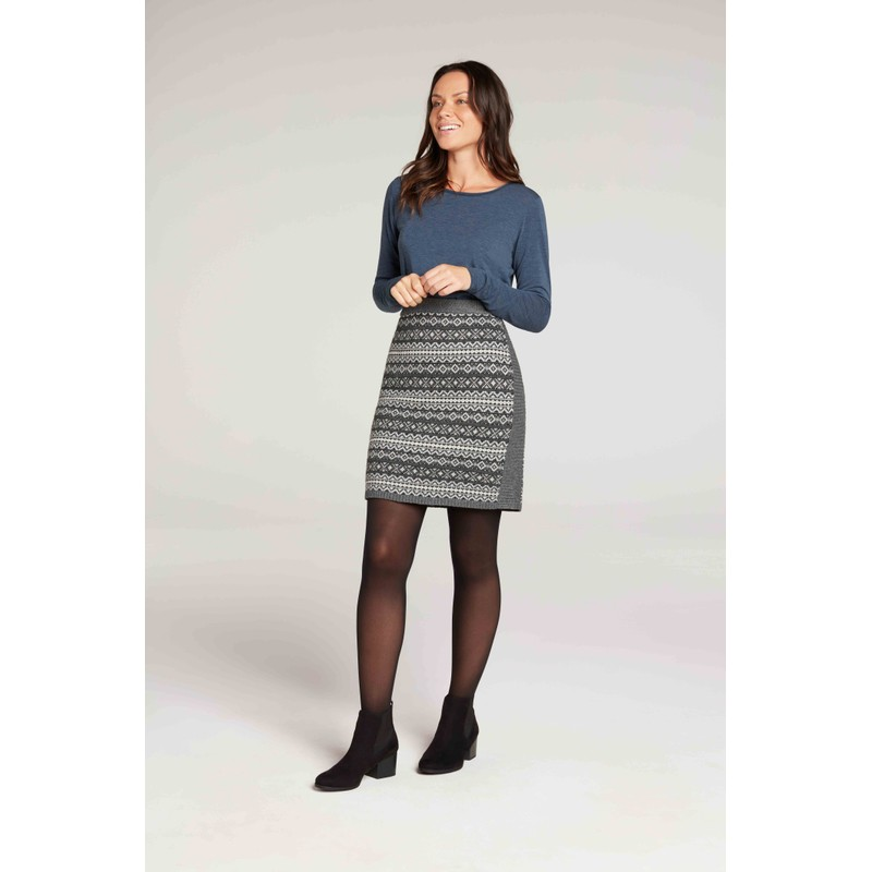 Paro Skirt - Kharani Grey