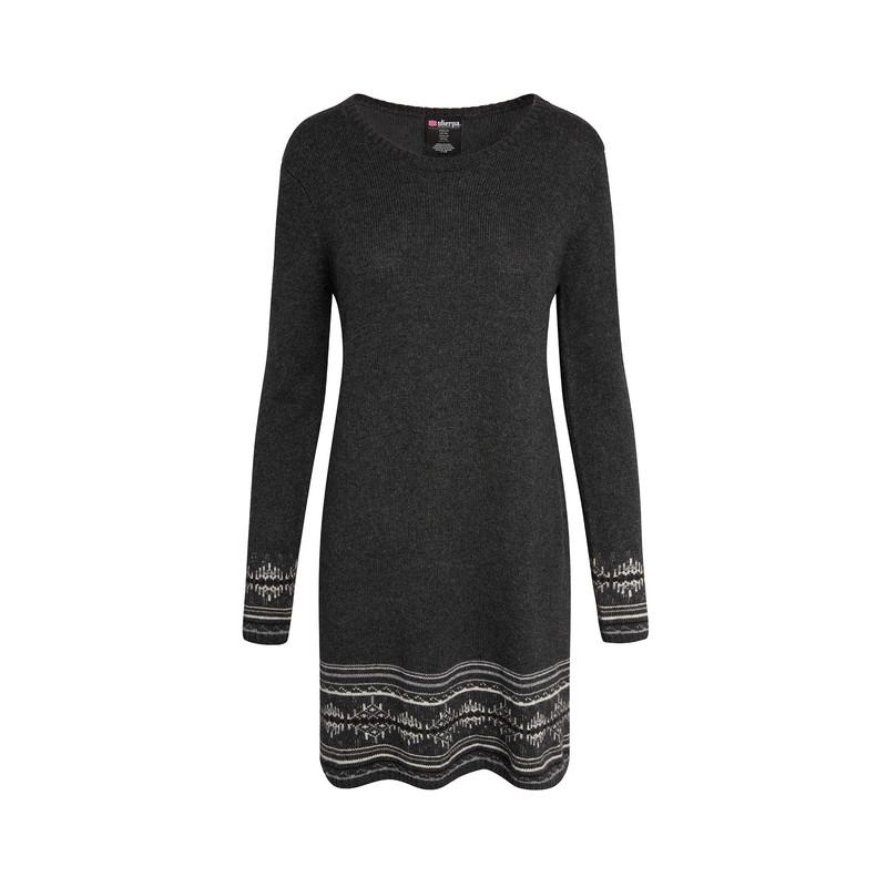 Maya Jacquard Dress - Kharani Grey