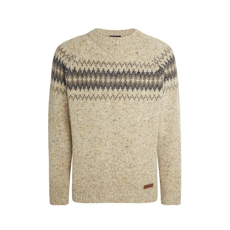 Dumji Crew Sweater - Chai Tea