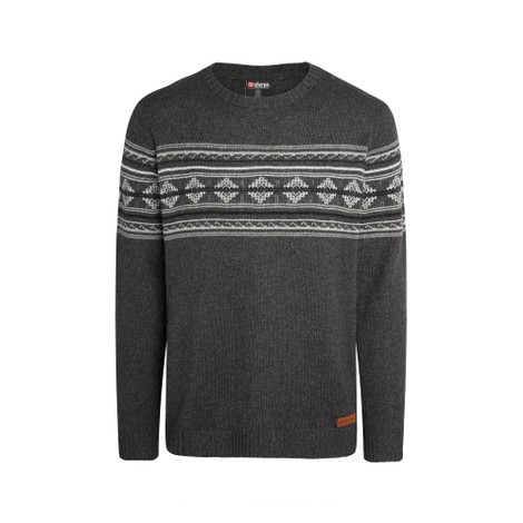 Nathula Crew Sweater Kharani Grey