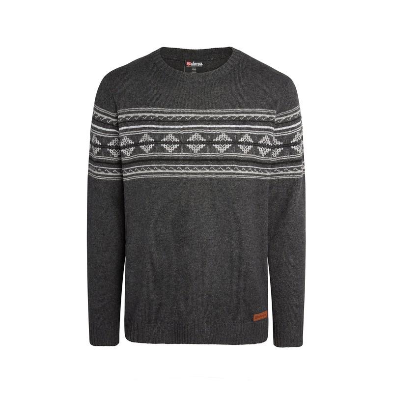 Nathula Crew Sweater - Kharani Grey