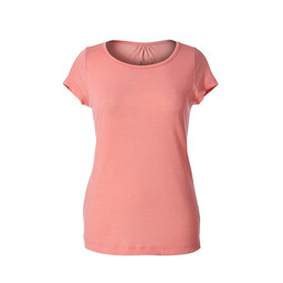 Royal Robbins Merinolux S/S Top in Strawberry Ice