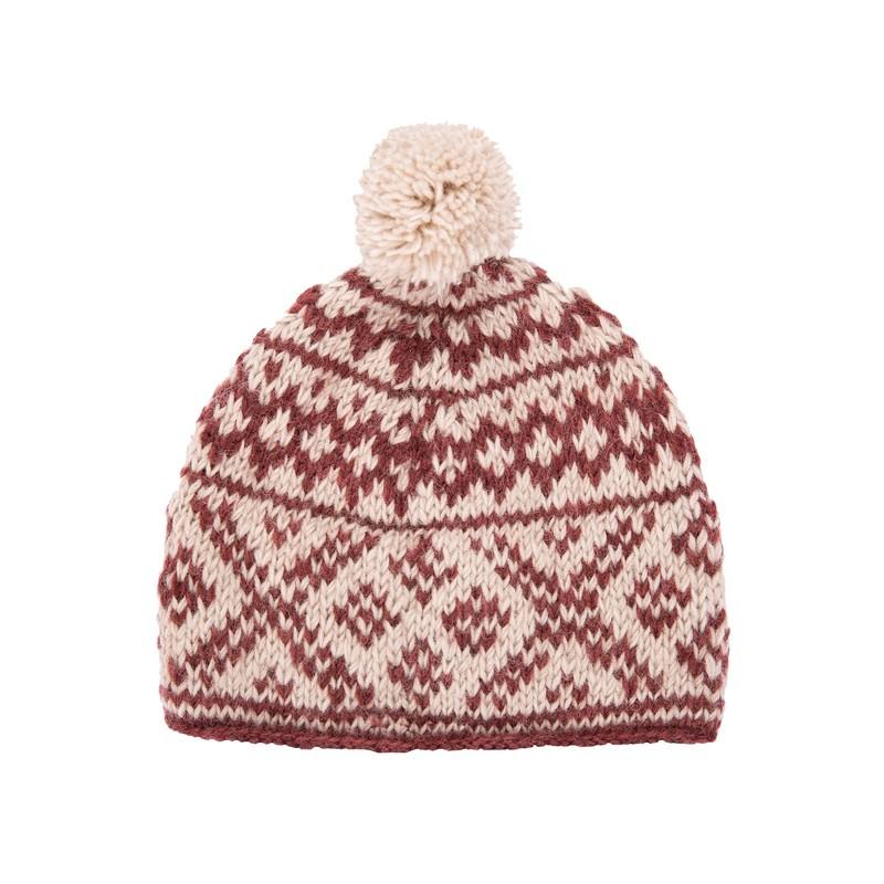 Bodhi Hat - Ganden Red