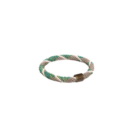 Sherpa Adventure Gear Mayalu Diamond Roll On Bracelet in Rathna Green